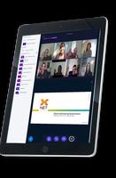 Bild X-Net Videokonferenz