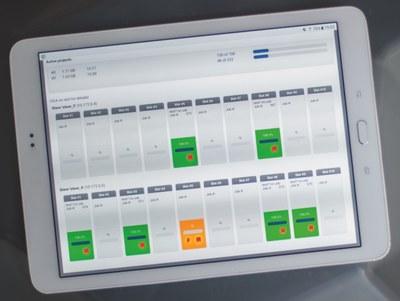 X5 Steuerung über Tablet-PC